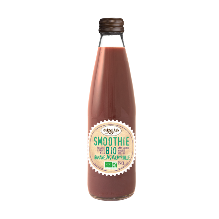 SMOOTHIE BANANE AÇAI MYRTILLE - 250ML